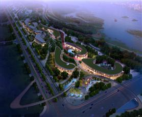 汉中天汉文化公园天汉长街
